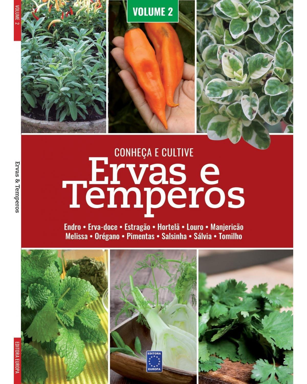 Ervas e temperos: Conheça e cultive - Volume 2 - 1ª Edição | 2021