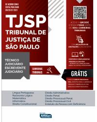 TJ SP - Tribunal de Justiça de São Paulo: Técnico e Escrevente Judiciário - EDITAL 2021 - 5ª Edição   2021