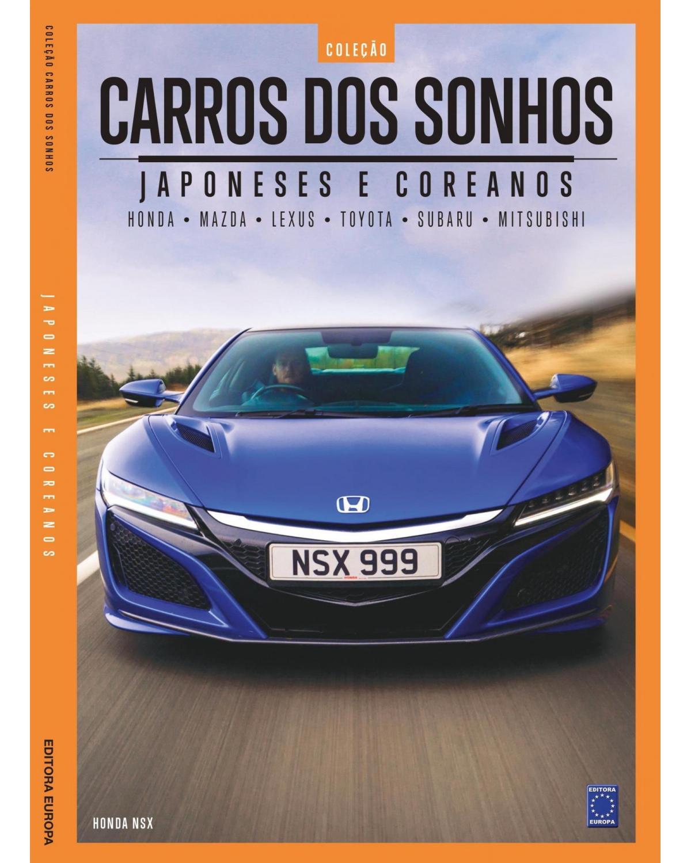 Coleção Carros dos sonhos: Japoneses e coreanos - 1ª Edição | 2021
