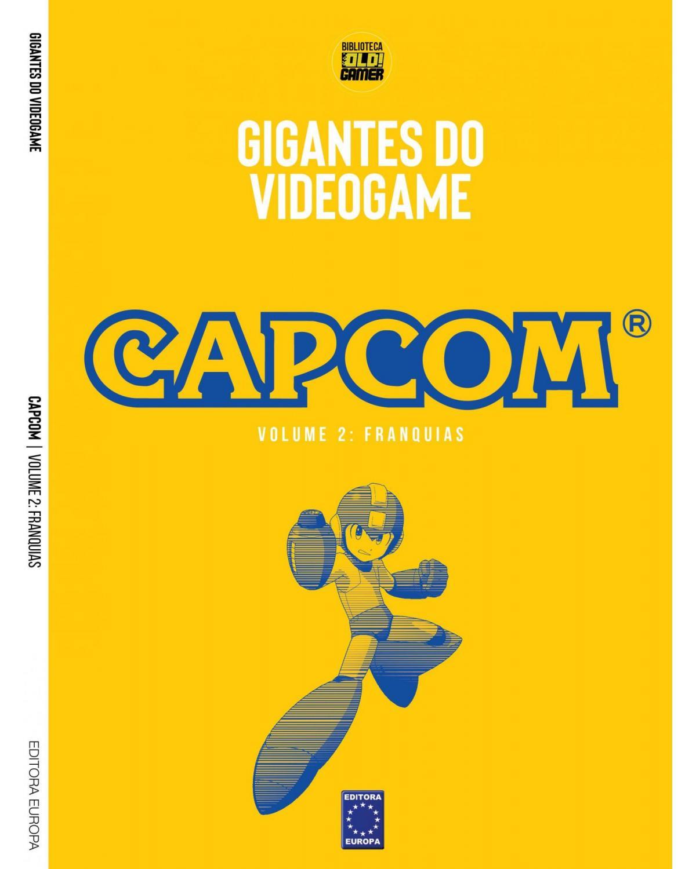 Coleção Gigantes do videogame: Capcom - Franquias - Volume 2 - 1ª Edição | 2021
