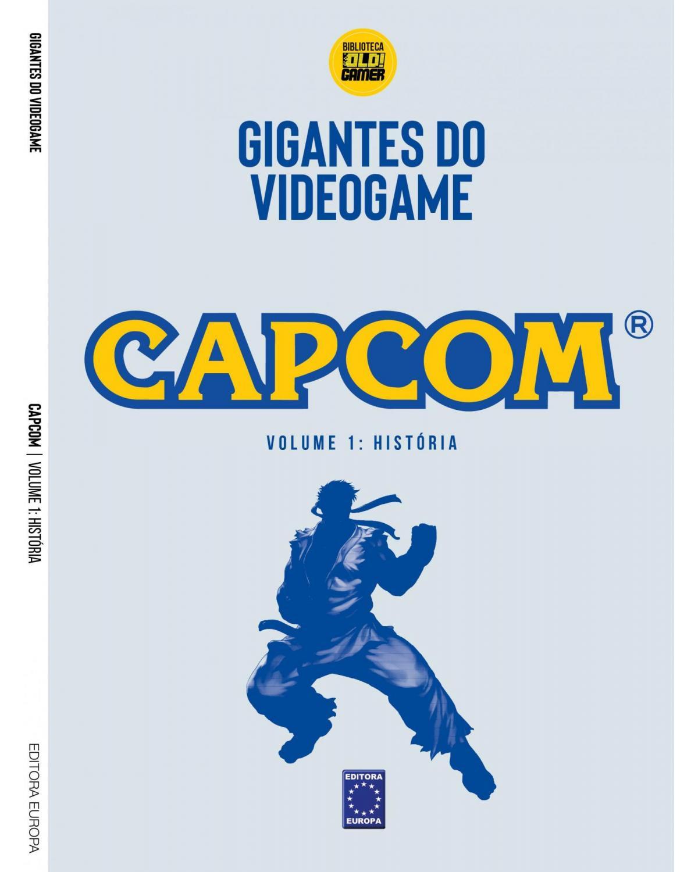 Coleção Gigantes do videogame: Capcom - História - Volume 1 - 1ª Edição | 2021