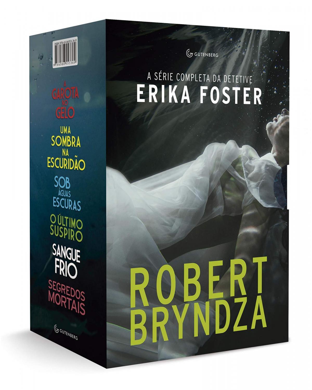 Box A série completa Detetive Erika Foster - 1ª Edição | 2021