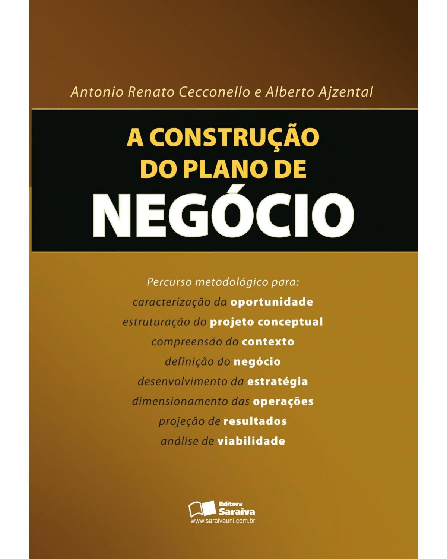 A construção do plano de negócio - 1ª Edição | 2007