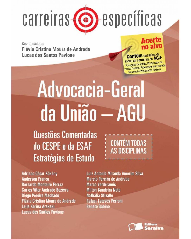 Advocacia-Geral da União - AGU - 2ª Edição | 2013
