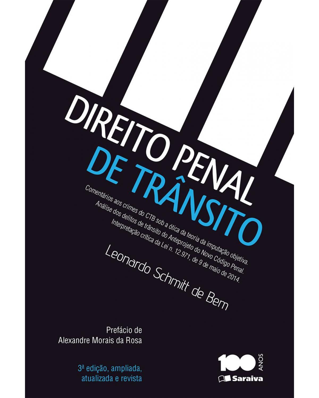 Direito penal de trânsito - 3ª Edição | 2015