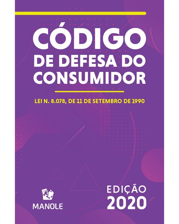 Código de defesa do consumidor - 10ª Edição | 2020