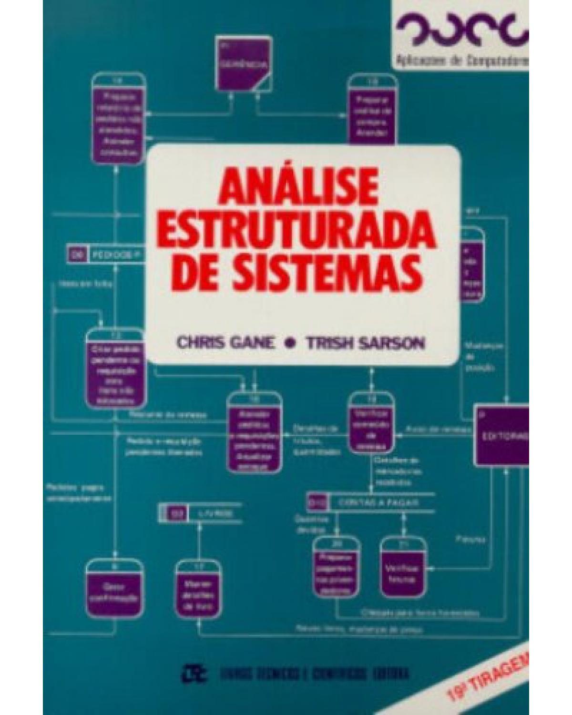 Análise estruturada de sistemas - 1ª Edição | 1983