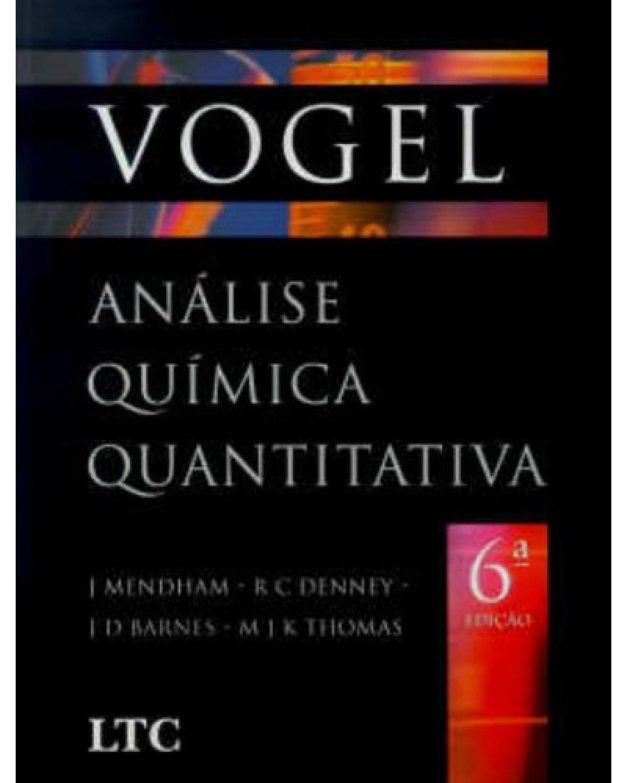 Análise química quantitativa - 6ª Edição   2002