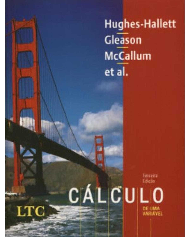 Cálculo de uma variável - 3ª Edição   2004