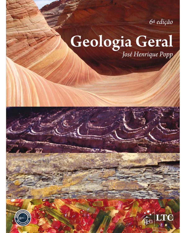Geologia geral - 6ª Edição