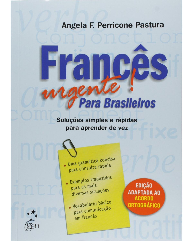 Francês urgente! Para brasileiros - 1ª Edição | 2003