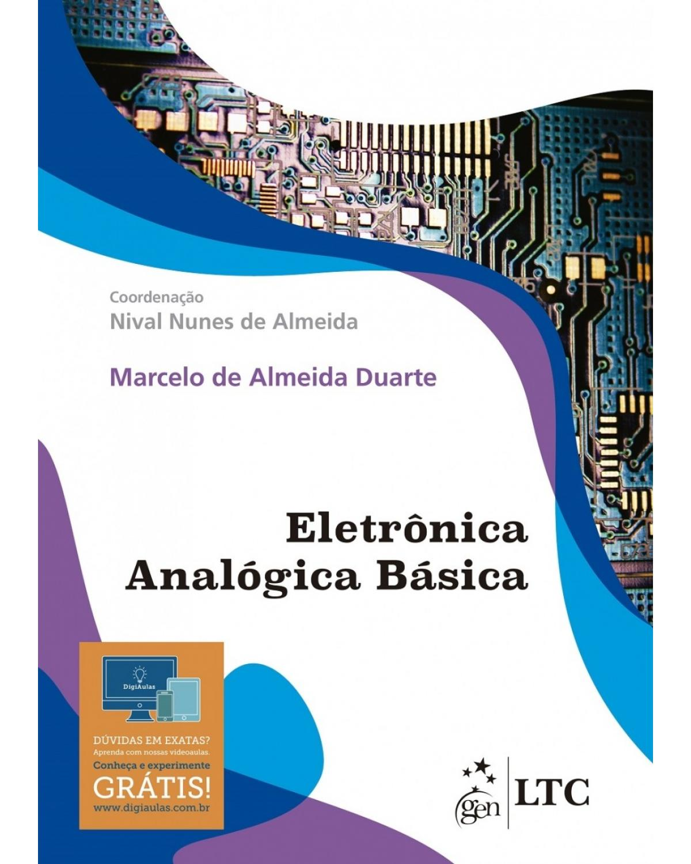 Eletrônica analógica básica - 1ª Edição | 2017