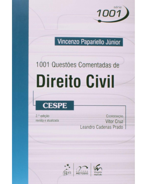 1001 Questões comentadas de direito civil - CESPE - 2ª Edição
