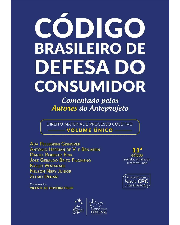 Código brasileiro de defesa do consumidor - 11ª Edição | 2017