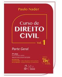 Curso de direito civil - Volume I: Parte geral - 10ª Edição