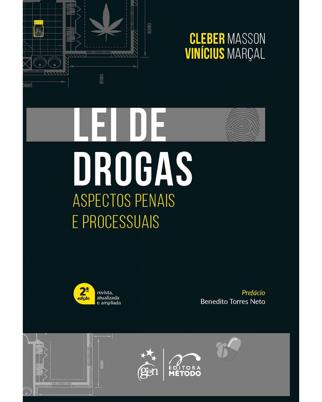 Lei de drogas - Aspectos penais e processuais - 2ª Edição   2021