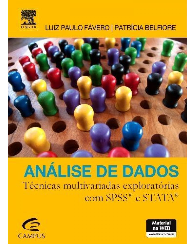 Análise de dados: técnicas multivariadas exploratórias com SPSS e STATA - 1ª Edição   2015