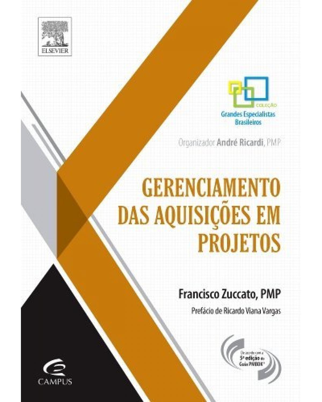 Gerenciamento de aquisições em projetos - 1ª Edição   2014