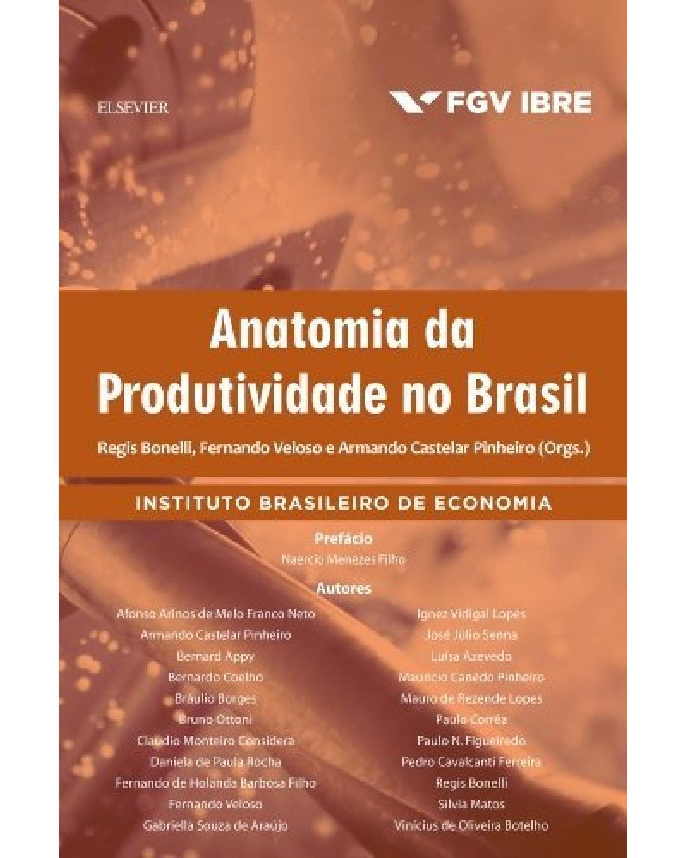 Anatomia da produtividade no Brasil - 1ª Edição   2017