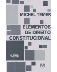 Elementos de direito constitucional - 24ª Edição