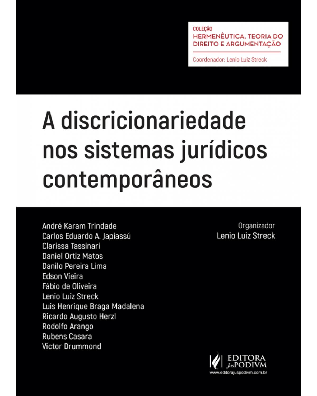 A discricionariedade nos sistemas jurídicos contemporâneos - 1ª Edição | 2017