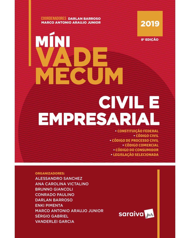 Míni vade mecum civil e empresarial - 8ª Edição   2019