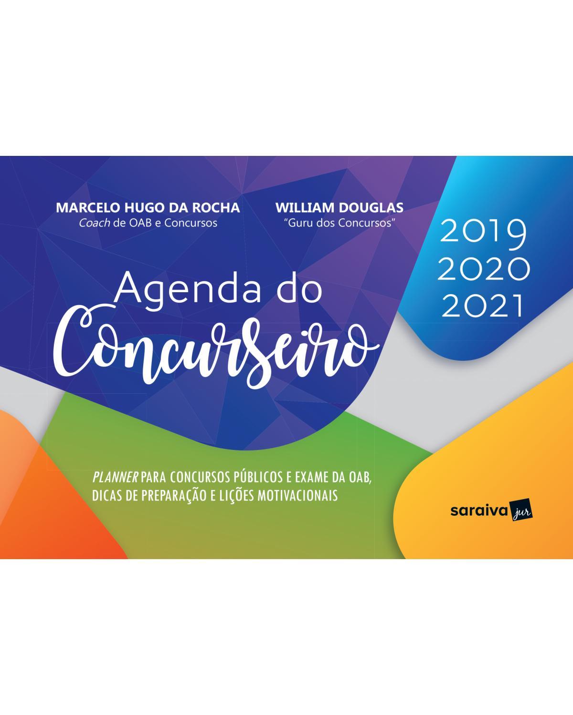 Agenda do concurseiro - 1ª Edição   2019