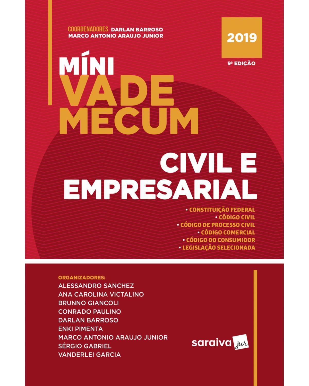Míni vade mecum civil e empresarial - 9ª Edição   2019