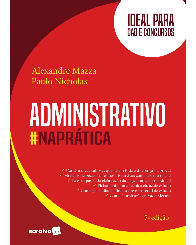 Administrativo na prática - 5ª Edição   2020
