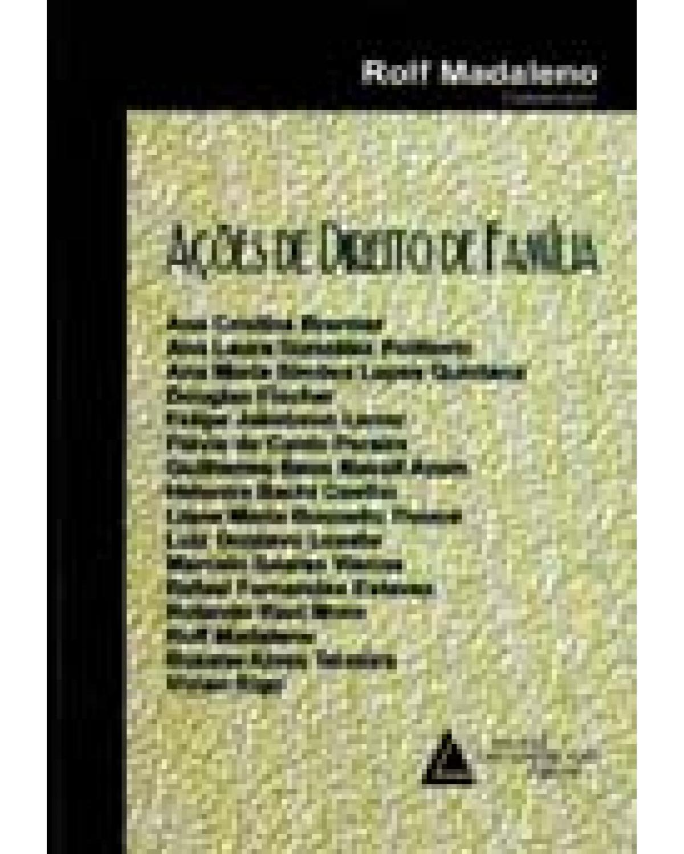 Ações de direito de família - 1ª Edição | 2006