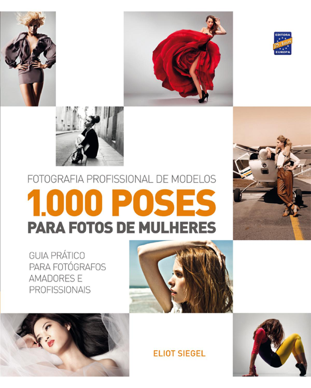 1.000 poses para fotos de mulheres