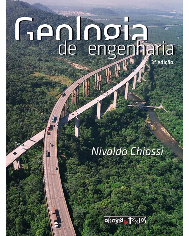 Geologia de engenharia - 3ª Edição