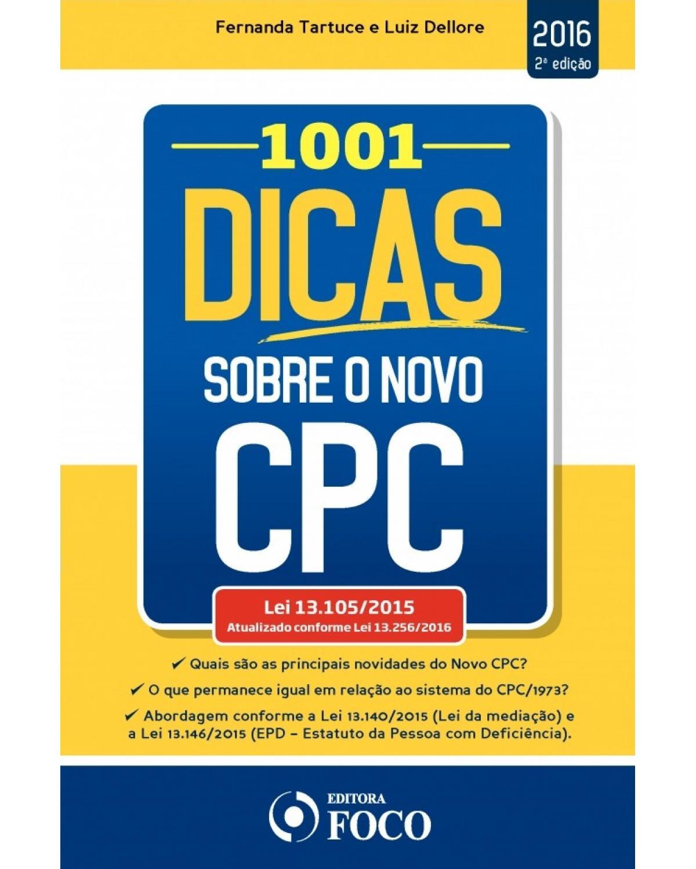 1001 dicas sobre o Novo CPC - 2ª Edição