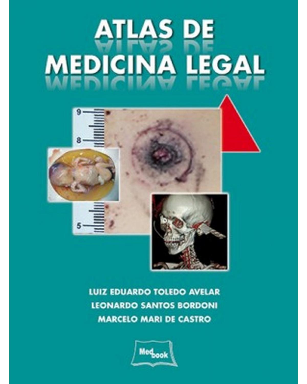 Atlas de medicina legal - 1ª Edição | 2014