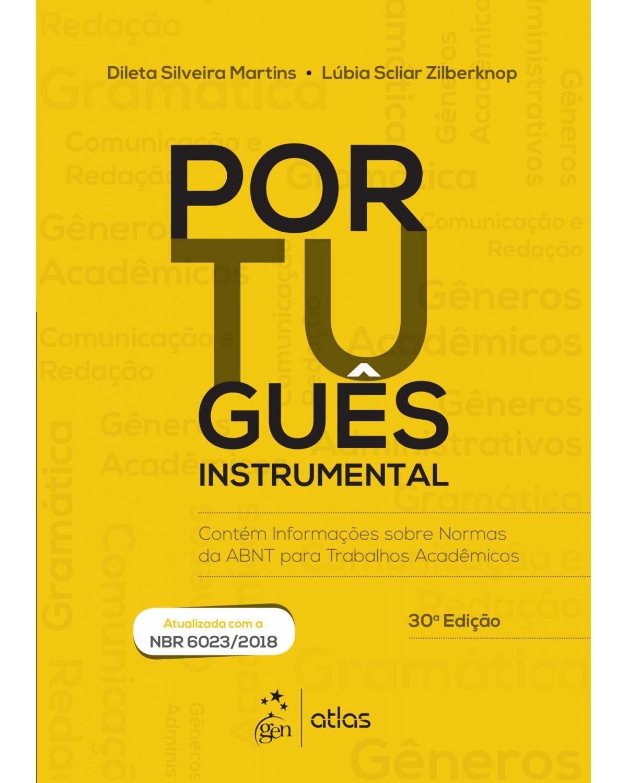 Português instrumental - 30ª Edição | 2019