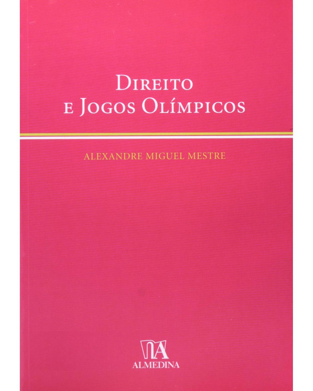 Direito e jogos olímpicos - 1ª Edição | 2008