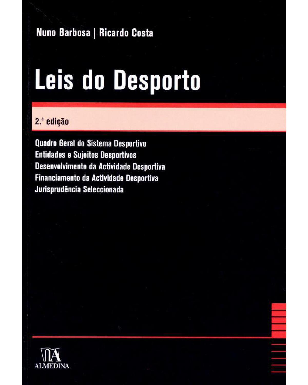 Leis do desporto - 2ª Edição | 2010