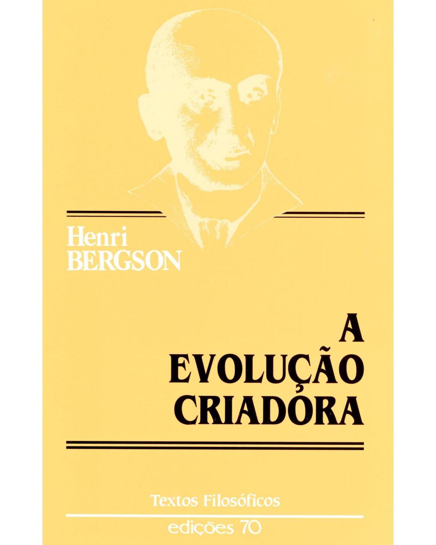 A evolução criadora - 1ª Edição   2001
