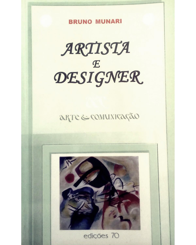 Artista e designer - 1ª Edição | 2004