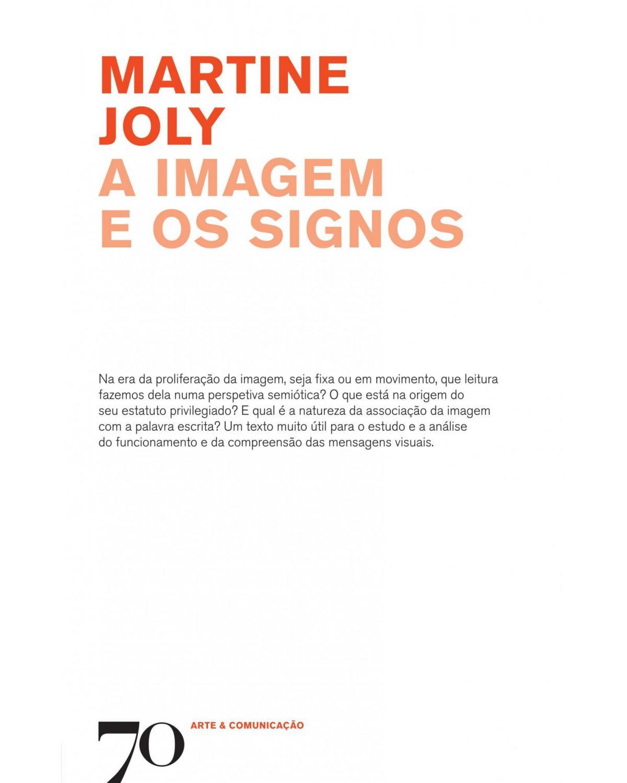A imagem e os signos - 1ª Edição | 2019