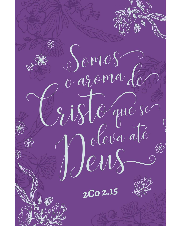 BÍBLIA SAGRADA NOVA VERSÃO TRANSFORMADORA - LETRA GRANDE  E CAPA SOFT TOUCH - AROMA DE CRISTO