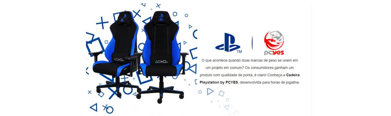 PROMOÇÃO Cadeira Gamer Playstation by PCYES