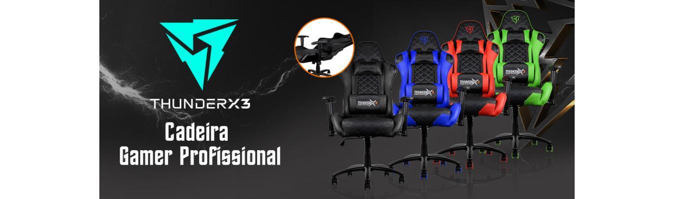Cadeiras Gamer Thunderx